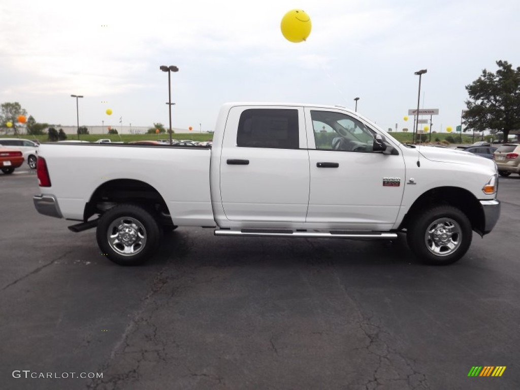 bright white 2012 dodge ram 2500 hd st crew cab 4x4 exterior photo 53270893. Black Bedroom Furniture Sets. Home Design Ideas