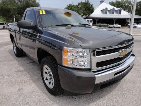 2011 chevrolet silverado 1500 ls regular cab data info and specs. Black Bedroom Furniture Sets. Home Design Ideas