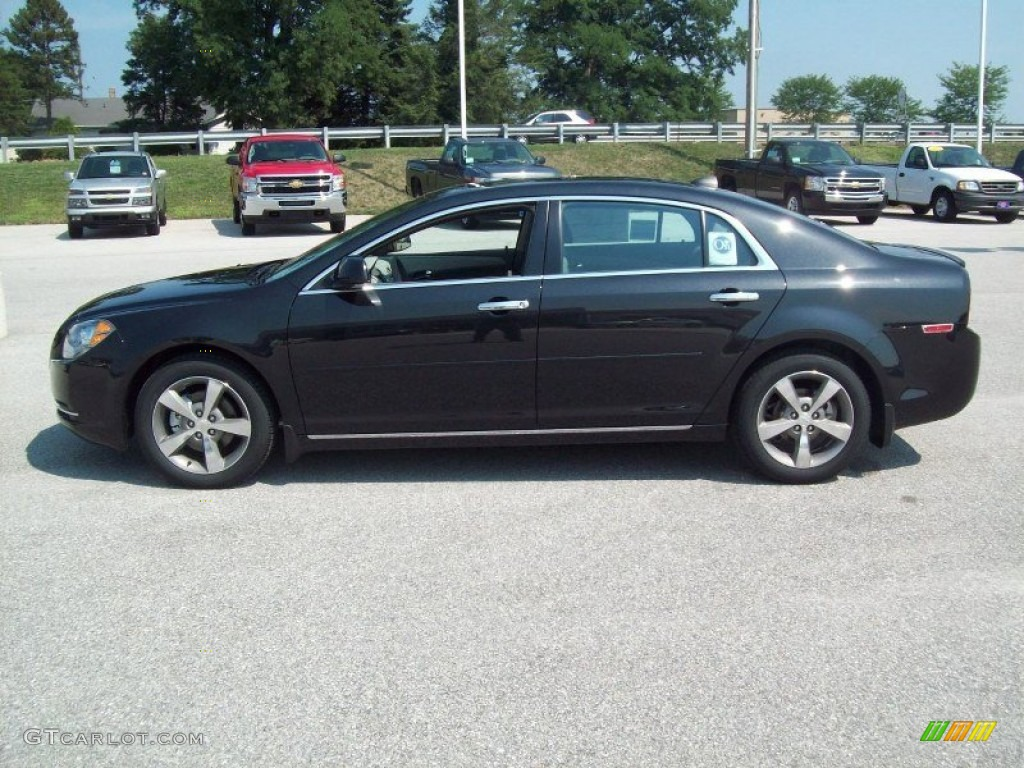 black granite metallic 2012 chevrolet malibu lt exterior photo 53280543. Black Bedroom Furniture Sets. Home Design Ideas