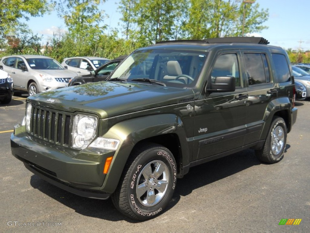 Jeep green metallic 2008 jeep liberty sport 4x4 exterior photo 53285940 gtcarlot com