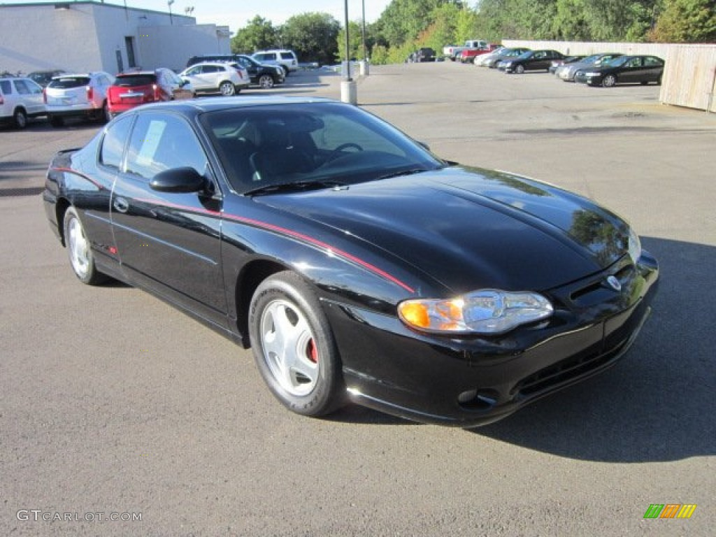 2001 black chevrolet monte carlo ss 53279650 car color galleries. Black Bedroom Furniture Sets. Home Design Ideas