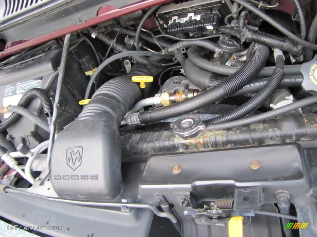 1999 dodge ram 1500 engine pictures to pin on pinterest for Dodge ram 1500 motor