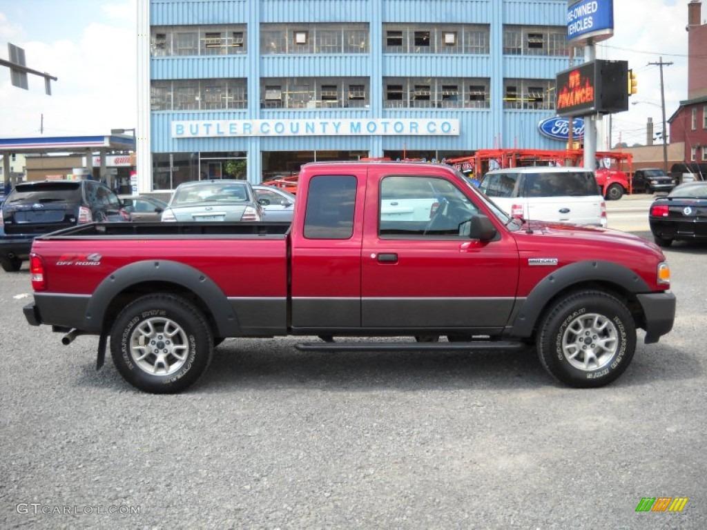 Redfire metallic ford ranger ford ranger fx4 off road supercab 4x4