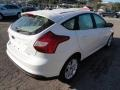 2012 White Platinum Tricoat Metallic Ford Focus SEL 5-Door  photo #4