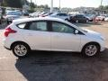 2012 White Platinum Tricoat Metallic Ford Focus SEL 5-Door  photo #5