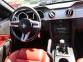 Red Leather Dashboard Photo for 2005 Ford Mustang #53295306