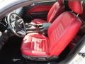 Red Leather Interior Photo for 2005 Ford Mustang #53295351