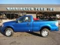 Blue Flame Metallic 2011 Ford F150 STX Regular Cab 4x4
