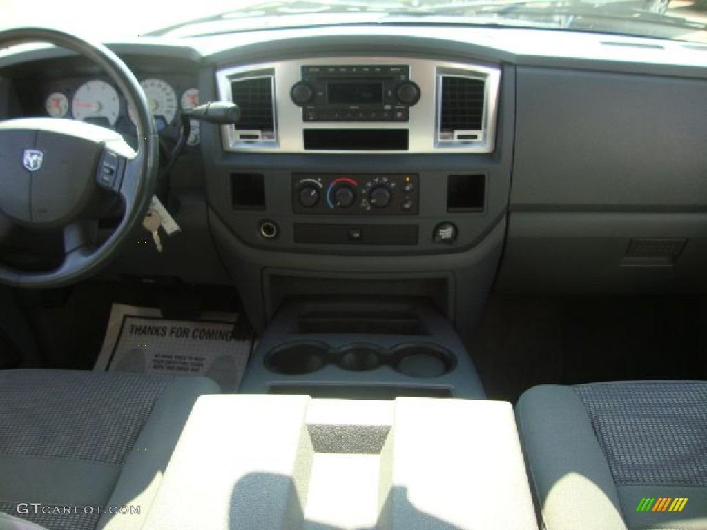 2007 Ram 3500 SLT Quad Cab Dually - Inferno Red Crystal Pearl / Medium Slate Gray photo #27