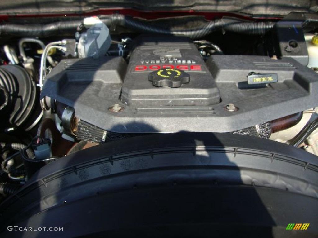 2007 Ram 3500 SLT Quad Cab Dually - Inferno Red Crystal Pearl / Medium Slate Gray photo #30