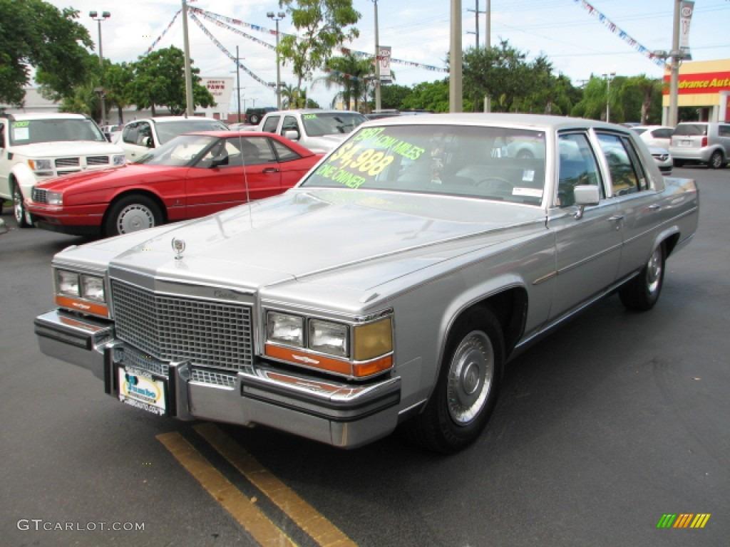 1987 Cadillac Brougham Standard Brougham Model Exterior Photos