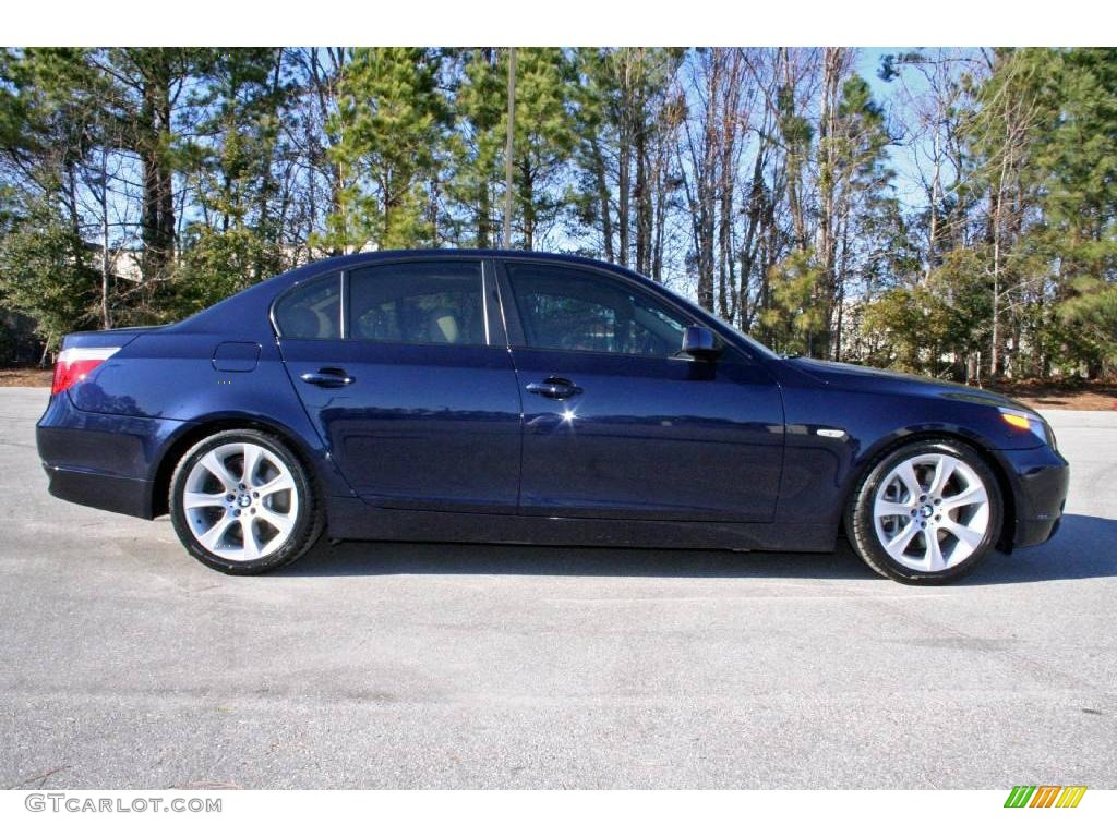 2004 orient blue metallic bmw 5 series 545i sedan 5325022. Black Bedroom Furniture Sets. Home Design Ideas