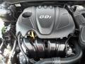 2.4 Liter GDI DOHC 16-Valve D-CVVT 4 Cylinder 2012 Hyundai Sonata GLS Engine