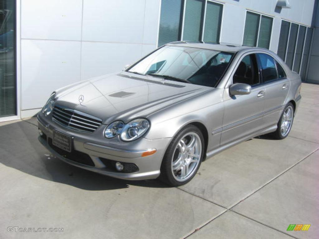 2005 pewter silver metallic mercedes benz c 55 amg sedan for Mercedes benz color