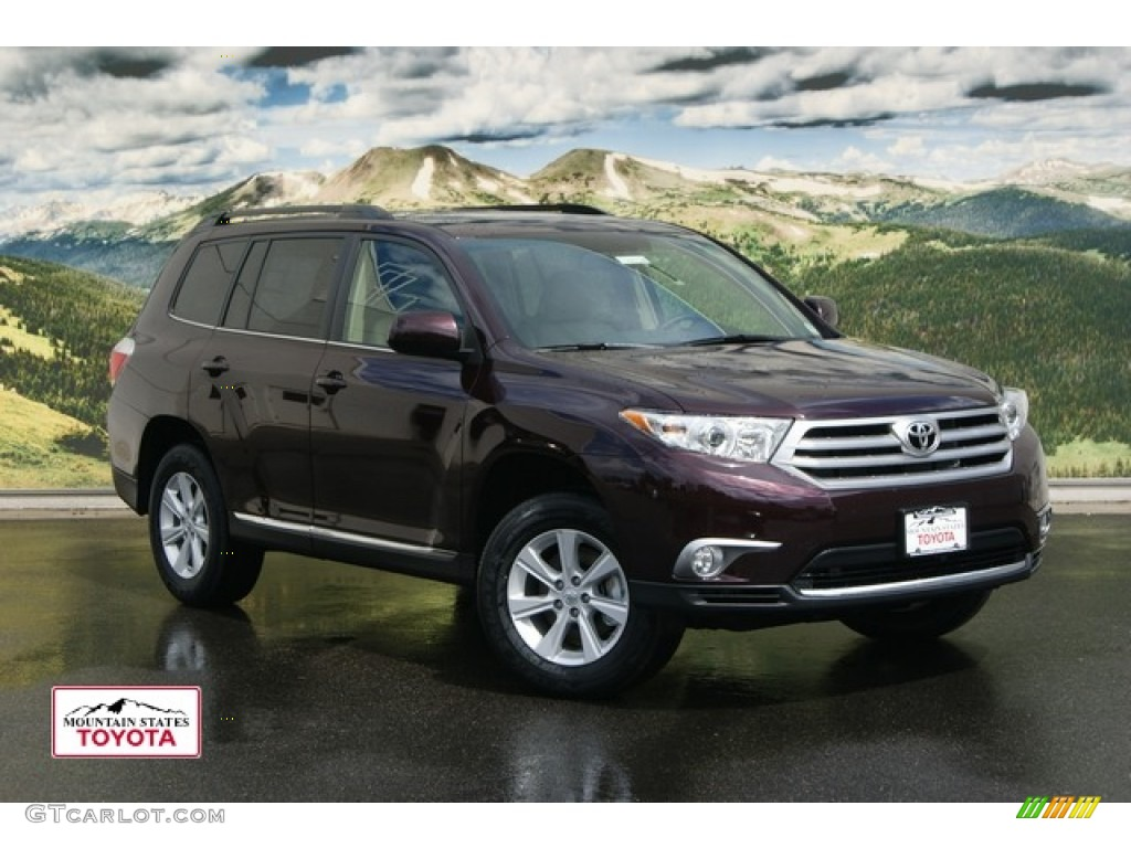 2012 Sizzling Crimson Mica Toyota Highlander Se 4wd 53327469 Photo 4 ...