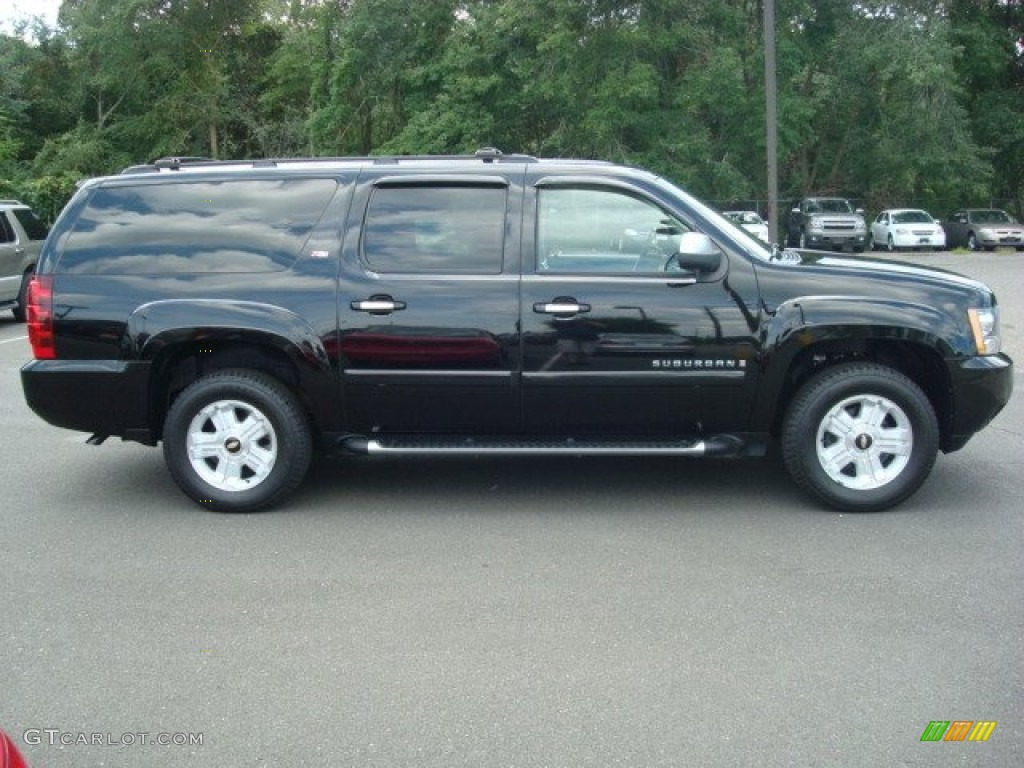 black 2007 chevrolet suburban 1500 z71 4x4 exterior photo. Black Bedroom Furniture Sets. Home Design Ideas