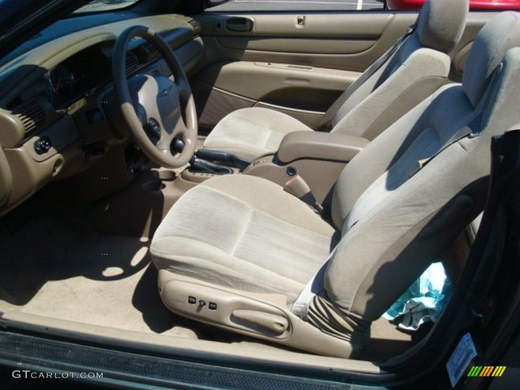 2004 Chrysler Sebring Lx Convertible Interior Photo 53338840