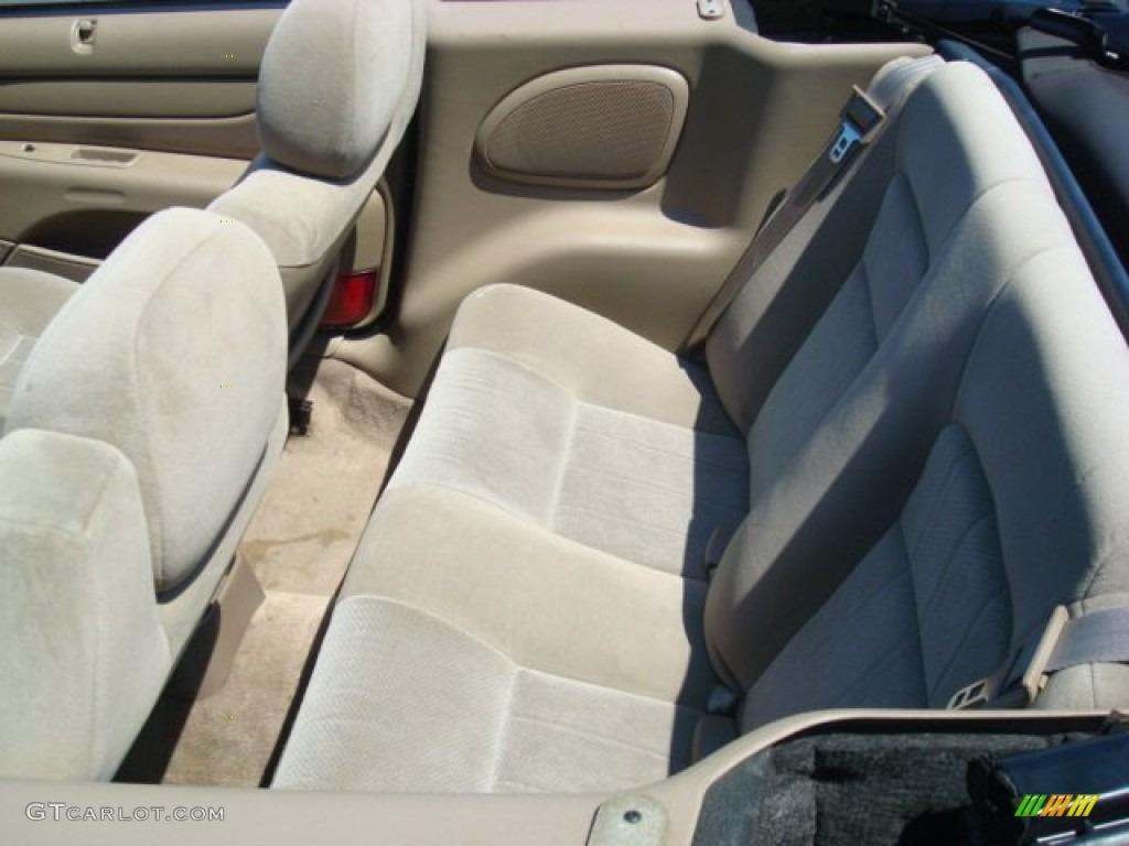 2004 Chrysler Sebring Lx Convertible Interior Photo 53338852