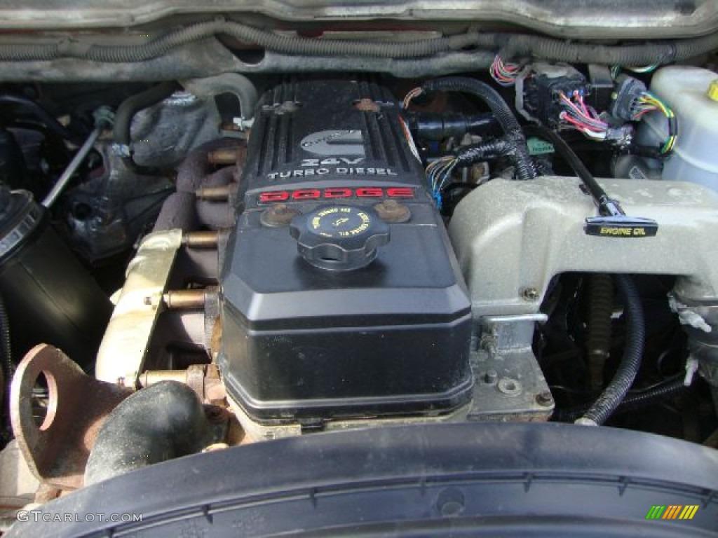 2007 Dodge Ram 3500 Laramie Quad Cab 4x4 Dually 5.9 Liter OHV 24-Valve Turbo Diesel Inline 6 Cylinder Engine Photo #53339926