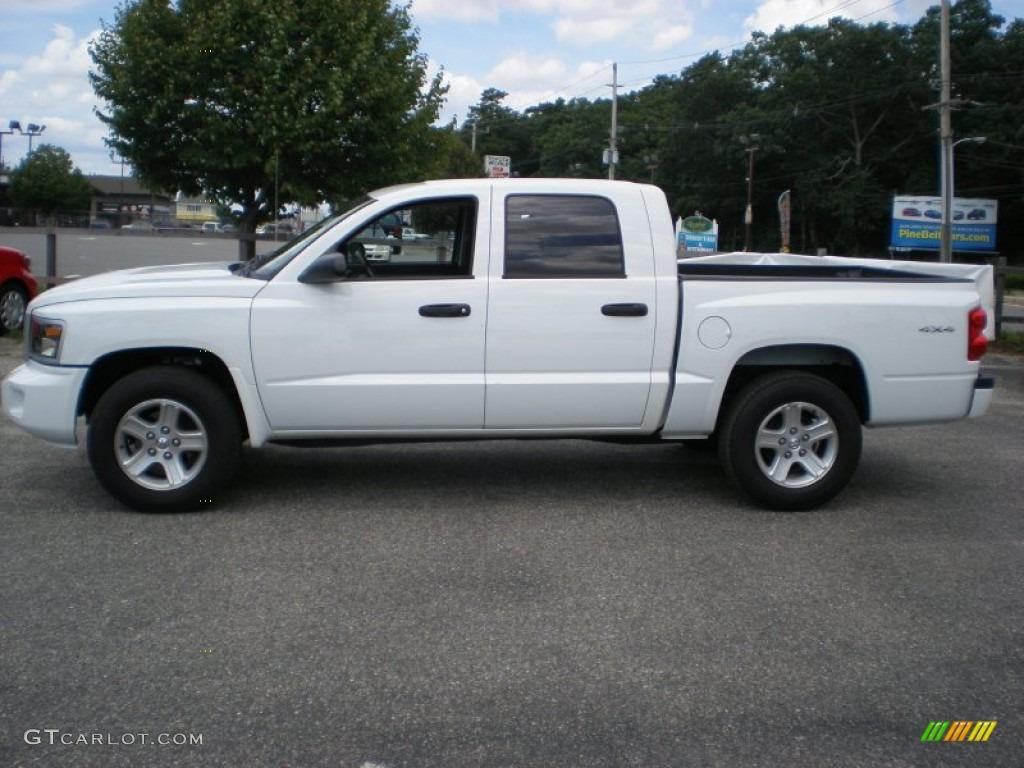 on 1995 Dodge Dakota White