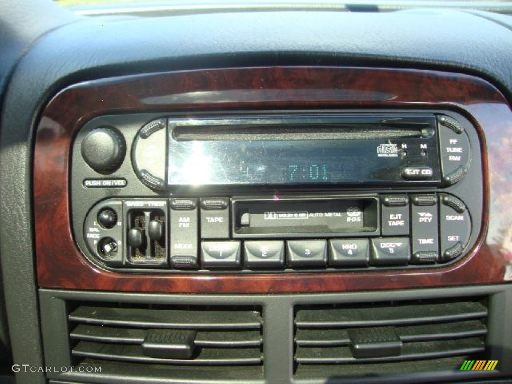 2003 jeep grand cherokee limited 4x4 audio system photos. Black Bedroom Furniture Sets. Home Design Ideas