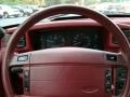 1993 Ford Mustang Red Interior Steering Wheel Photo