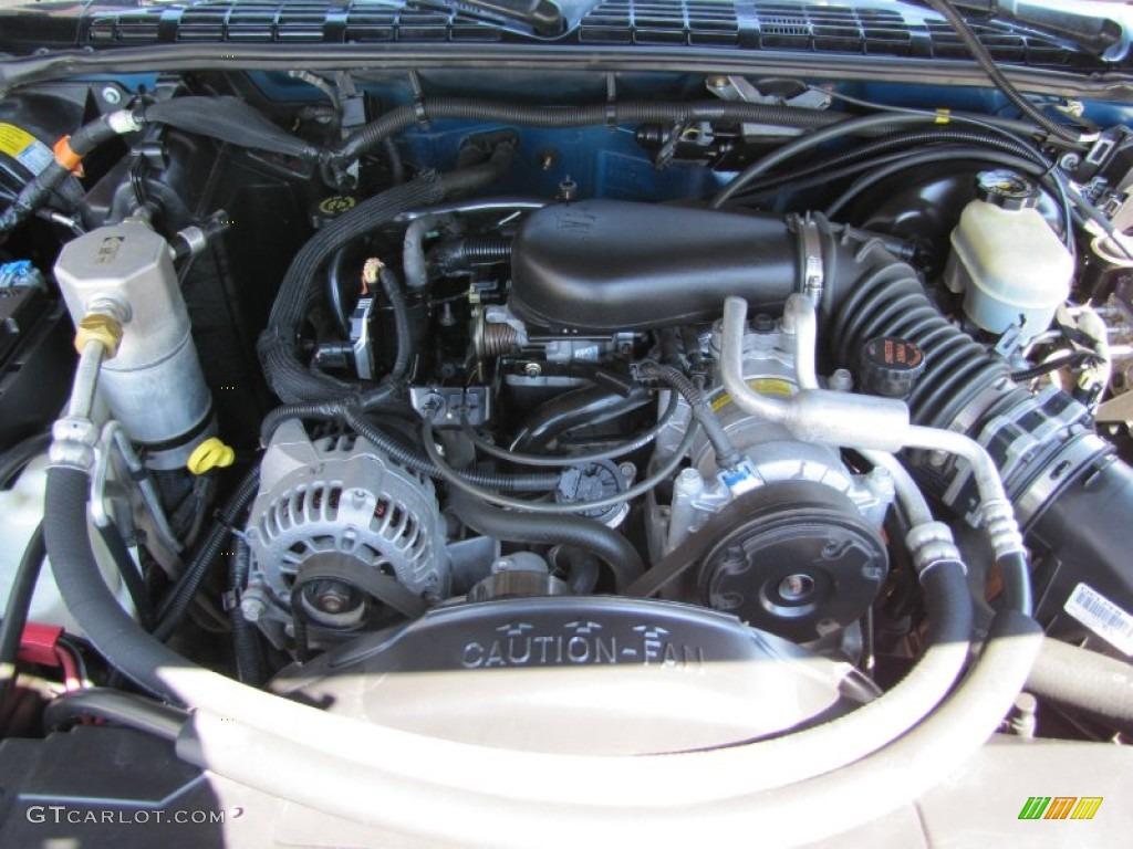 2000 GMC Sonoma SLE Extended Cab 4x4 4.3 Liter OHV 12 ...