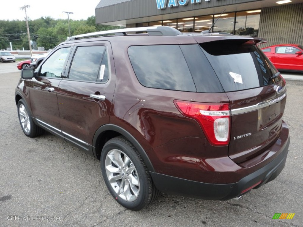 Cinnamon metallic 2012 ford explorer limited 4wd exterior - Ford explorer exterior dimensions ...
