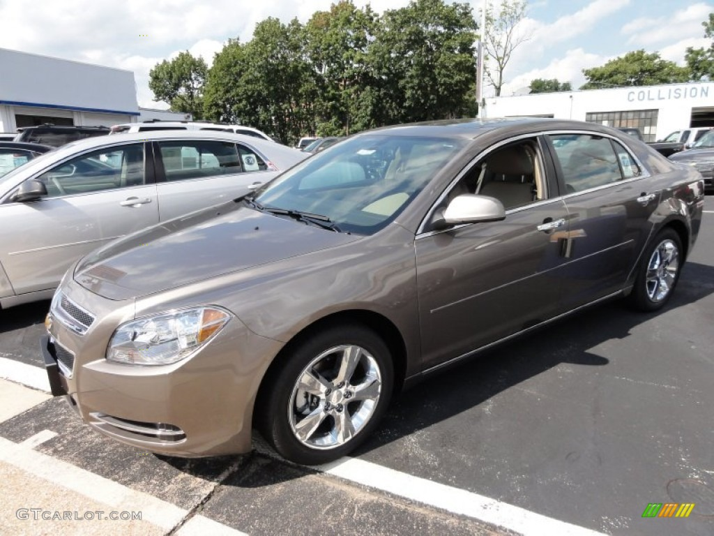 Captivating Mocha Steel Metallic 2012 Chevrolet Malibu LT Exterior Photo #53353372