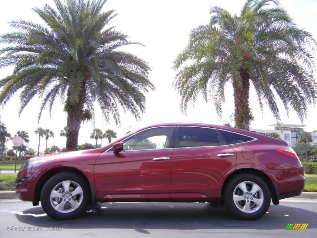 2010 Tango Red Pearl Honda Accord Crosstour Ex 53327560