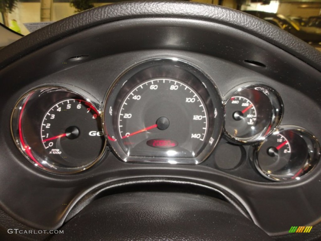 2008 Pontiac G6 Gxp Coupe Gauges Photo 53354665