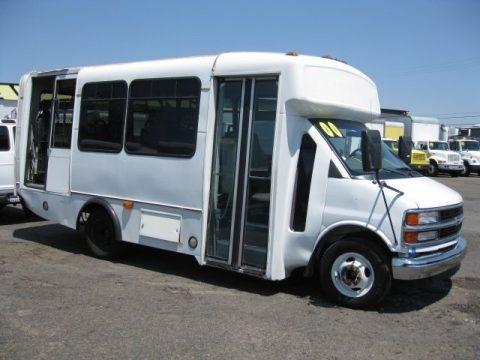 2000 Chevrolet Express 3500 Cutaway Penger Van Data, Info and ...