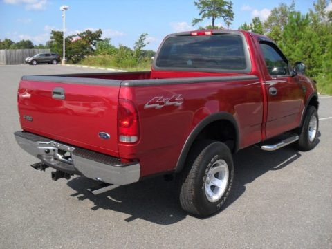 2001 Ford F150 XL Regular Cab 4x4 Data, Info and Specs