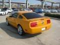 2007 Grabber Orange Ford Mustang V6 Deluxe Coupe  photo #3