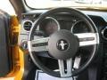 2007 Grabber Orange Ford Mustang V6 Deluxe Coupe  photo #10