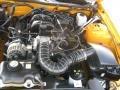 2007 Grabber Orange Ford Mustang V6 Deluxe Coupe  photo #20