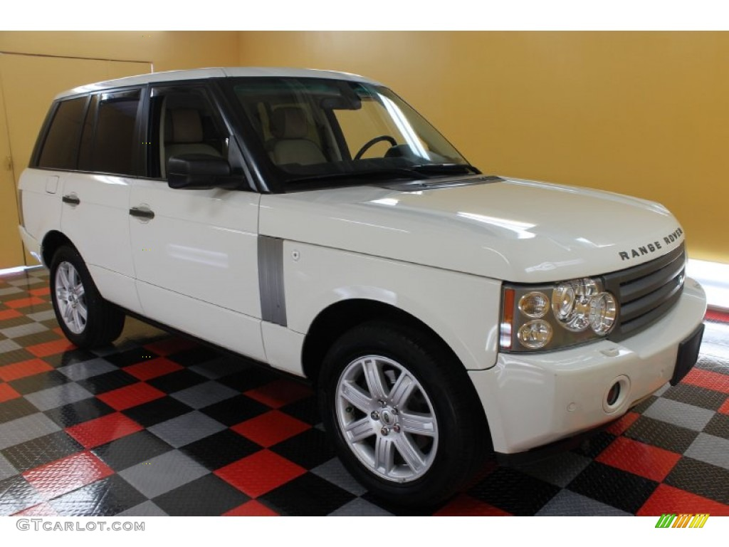 2007 Range Rover HSE - Chawton White / Sand Beige photo #1
