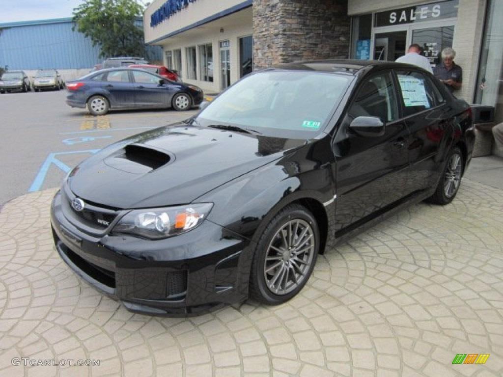 Obsidian Black Pearl 2011 Subaru Impreza Wrx Sedan
