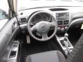 2011 Subaru Impreza Carbon Black Interior Dashboard Photo