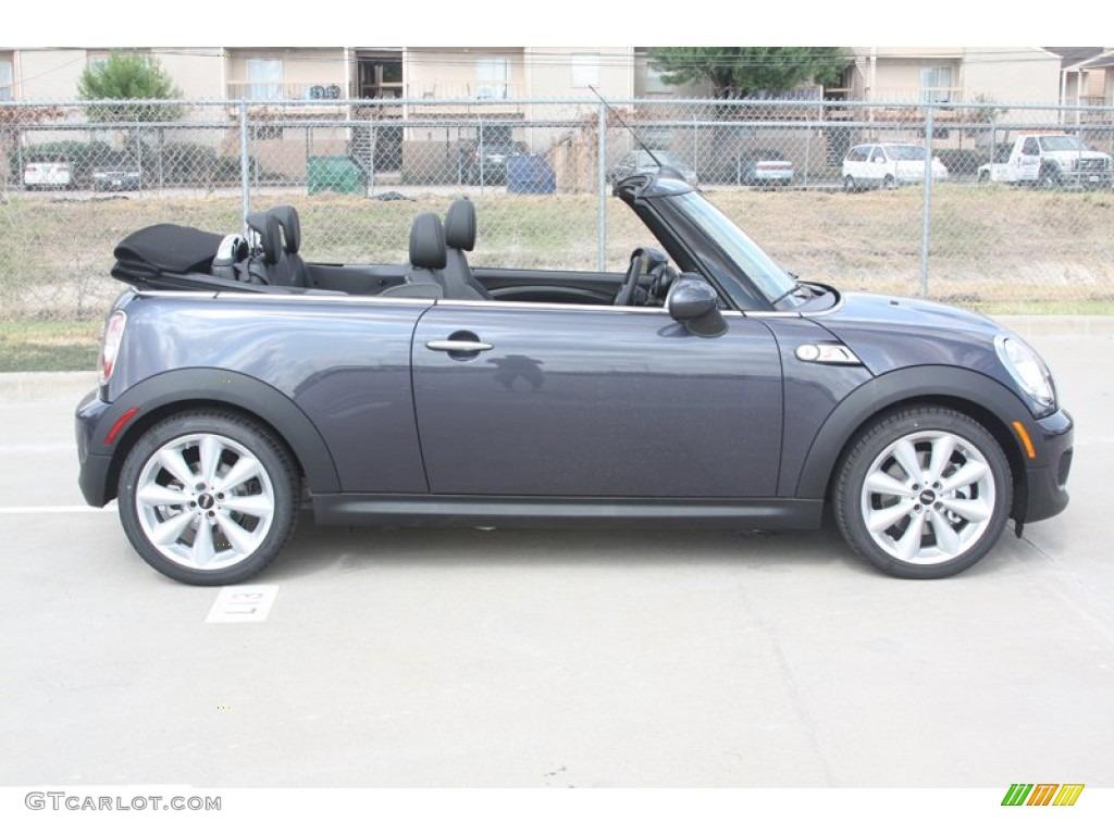 2012 Highclass Gray Metallic Mini Cooper S Convertible