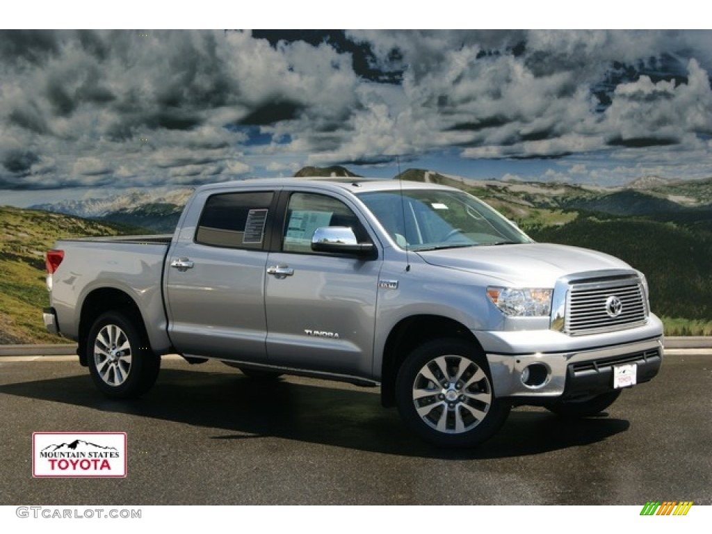 2011 Tundra Platinum CrewMax 4x4 - Silver Sky Metallic / Graphite Gray photo #1