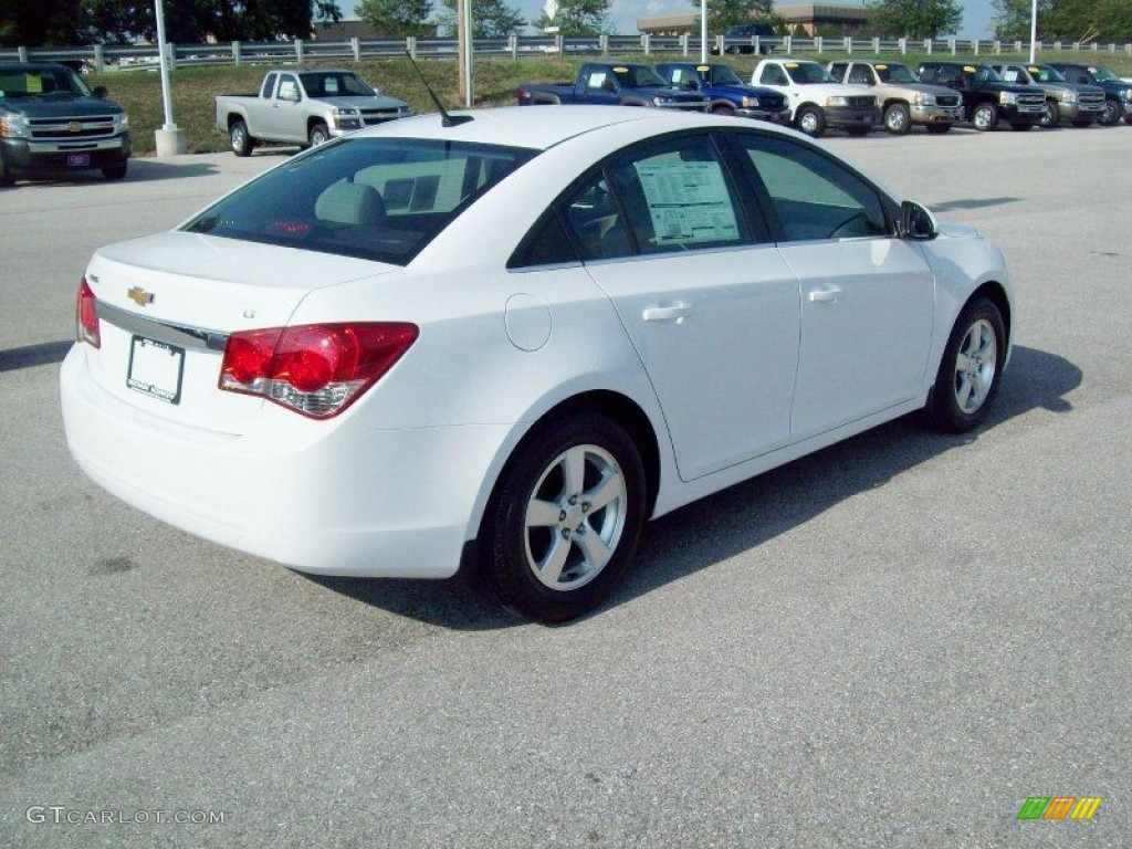 Summit White 2012 Chevrolet Cruze LT Exterior Photo ...