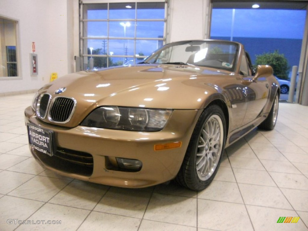 2000 Impala Brown Metallic Bmw Z3 2 8 Roadster 53328041