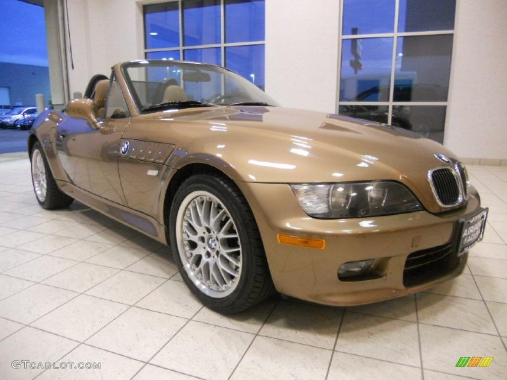 2000 Impala Brown Metallic Bmw Z3 2 8 Roadster 53328041 Photo 3
