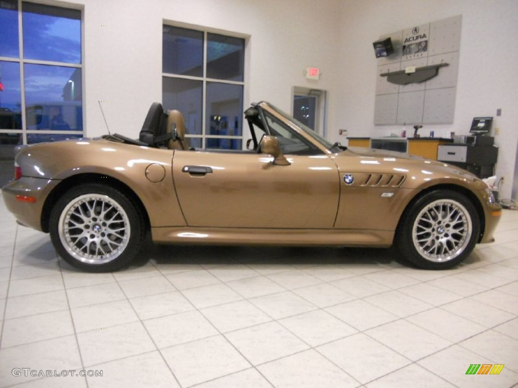 Impala Brown Metallic 2000 Bmw Z3 2 8 Roadster Exterior