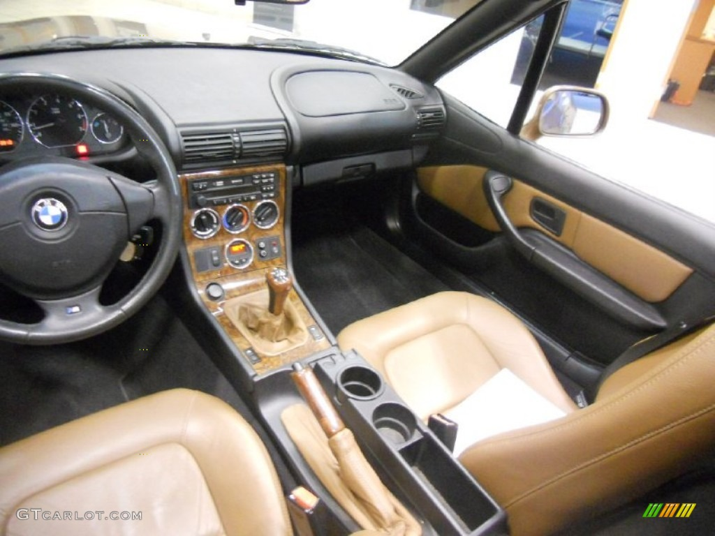 Impala Brown Interior 2000 Bmw Z3 2 8 Roadster Photo