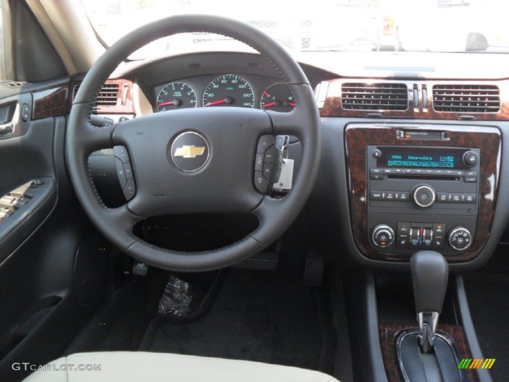2012 Chevrolet Impala LTZ Neutral Dashboard Photo #53383322