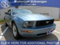 2006 Windveil Blue Metallic Ford Mustang V6 Premium Coupe  photo #1