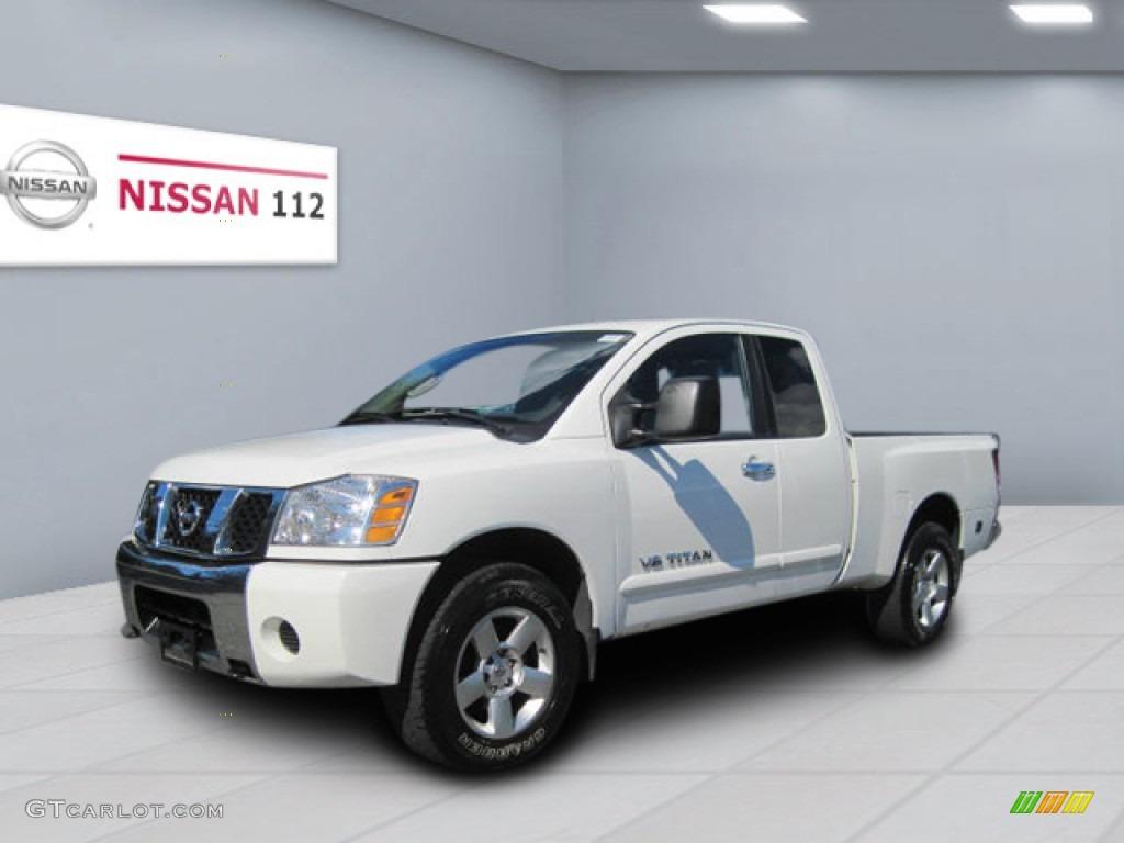 2006 white nissan titan se king cab 4x4 53328078 gtcarlot white nissan titan vanachro Image collections
