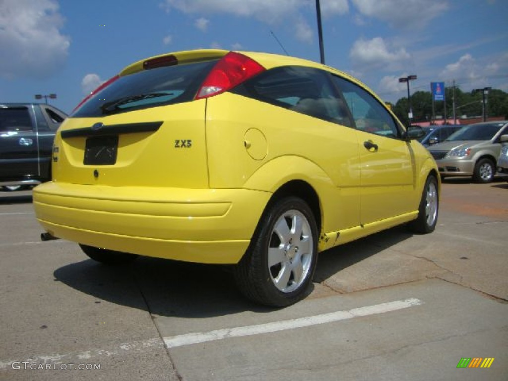 egg yolk yellow 2002 ford focus zx3 coupe exterior photo. Black Bedroom Furniture Sets. Home Design Ideas